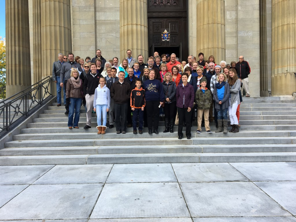 St. I's parishioners at St. Peter in Chains Cathedral. (Courtesy Photo)