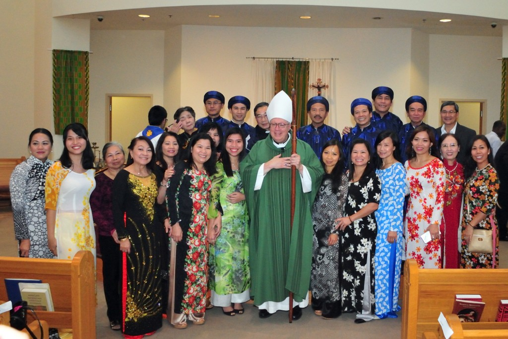 World Mission Sunday Mass at St. Benedict the Moor Parish (CT/Photo E. L. Hubbard)