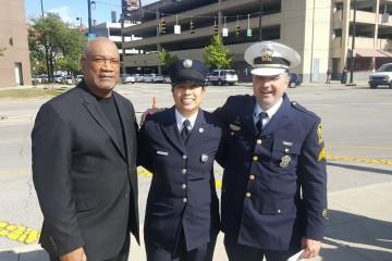 Deacon Royce Winters Chaplain in the Cincinnati Fire Department. (Courtesy Photo)