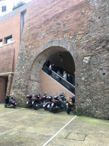 Where Modern and Ancient meet during pilgrimage in Italy (Courtesy Photo)