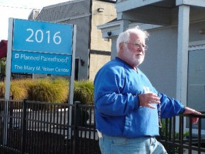 Bob Centrulo in 2012, at the Planned Parenthood facility in Western Hills. The business refers women to the Mt. Auburn building for abortions. (Courtesy Photo)