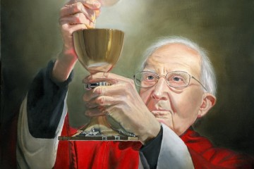 One of Cecilia Brendel's favorite works is that of Father Angelo Caserta. (Courtesy Photo)
