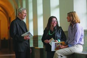 Father Bob Hater who teaches students at the Athenauem of Ohio (Courtesy Photo)