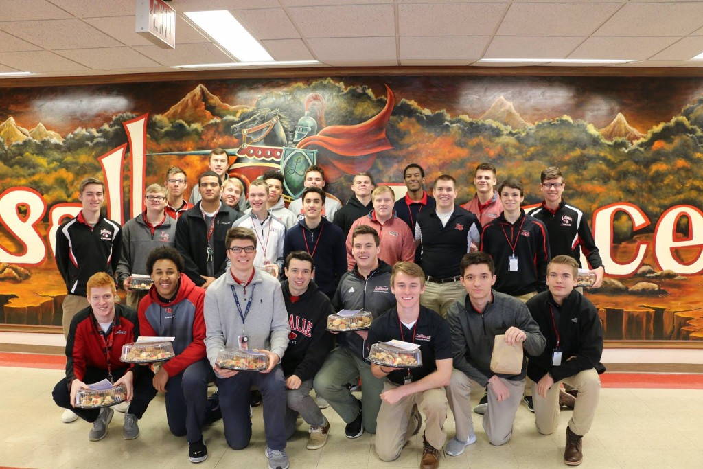 LaSalle preparing for their cookie tour. (Courtesy Photo)