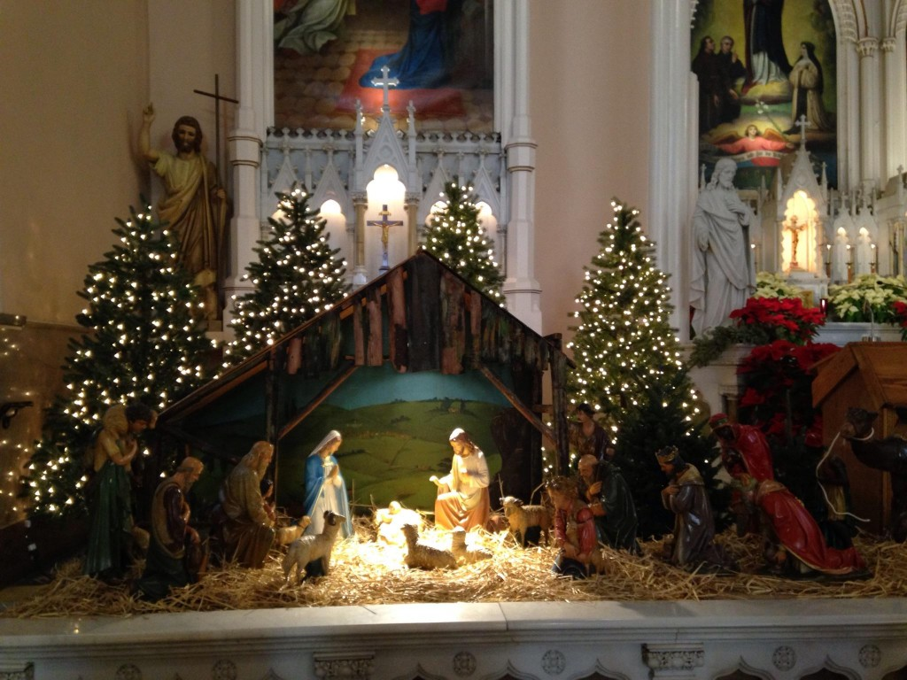 Feast of the Epiphany at Holy Cross Immaculata Cincinnati. (Courtesy Photo)