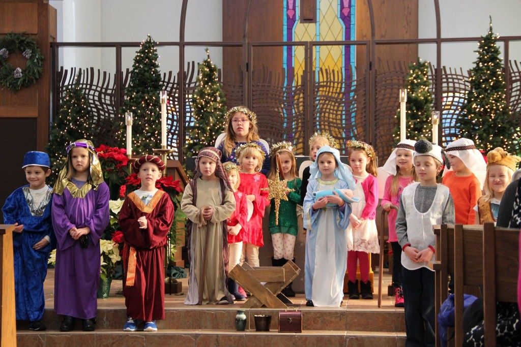 Children at St. Joseph North Bend celebrate the Feast of the Epiphany. (Courtesy Photo)