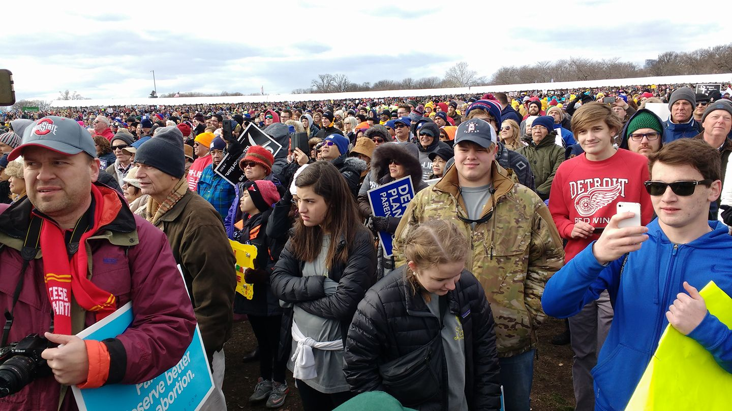 Archdiocese of Cincinnati attends March for Life in Washington DC (Courtesy Photo)