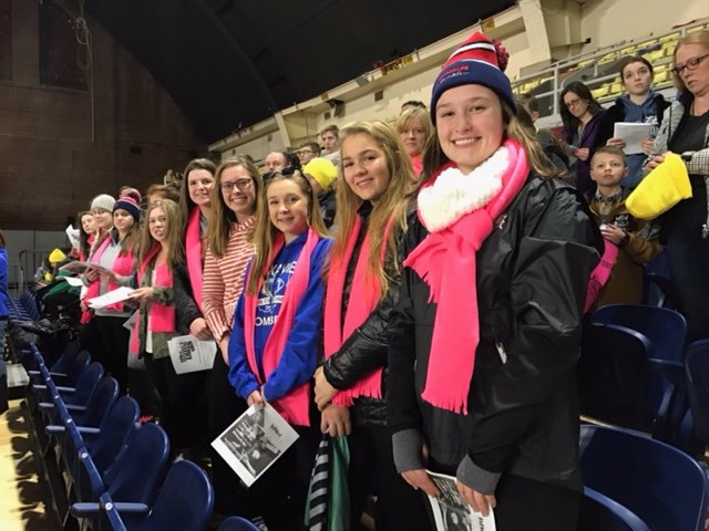 Mount Notre Dame Students preparing for March for Life in Washington. (Courtesy Photo)