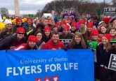 University of Dayton Students attend March for Life. (Courtesy Photo)
