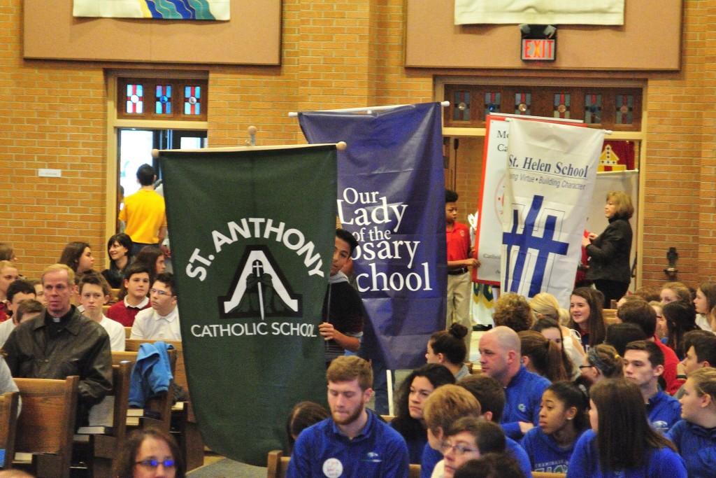 Catholic Schools Week Mass Dayton 2017