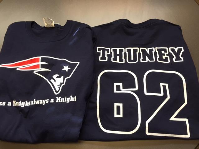 thuney tshirt