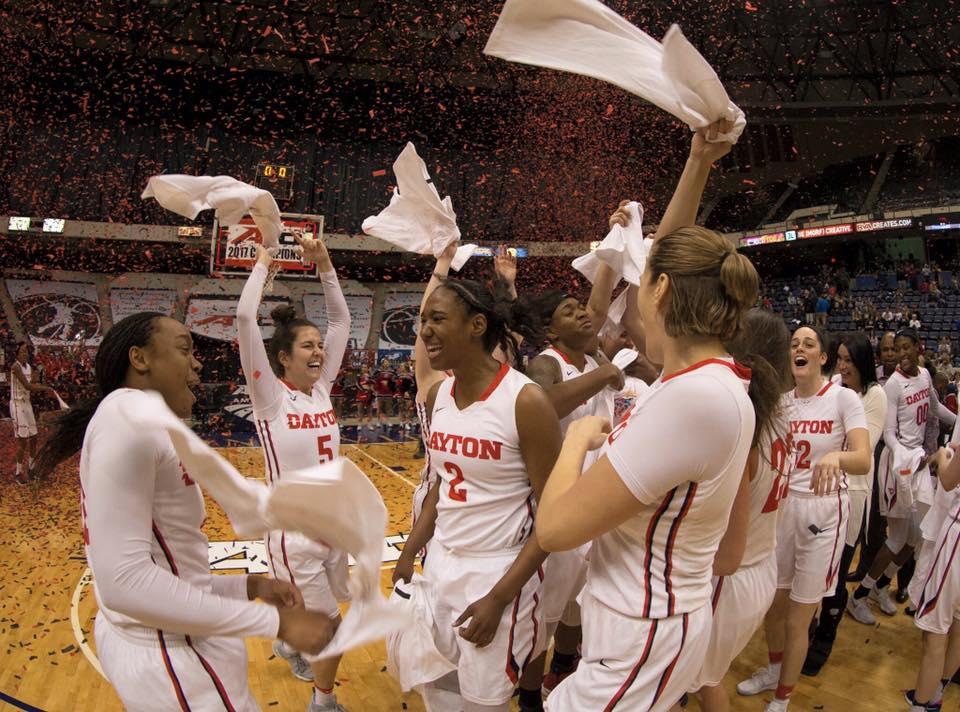University of Dayton Womens A10 Basketball Champions