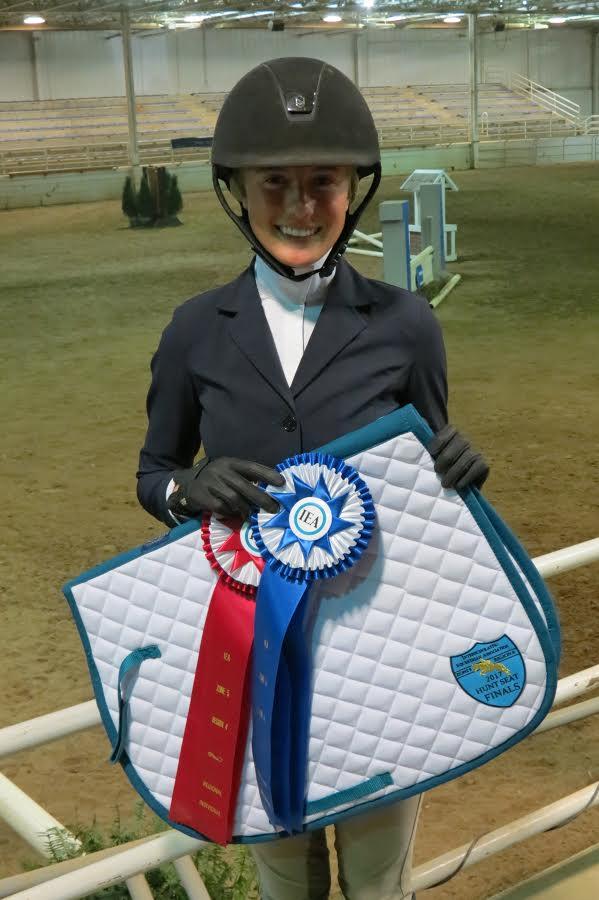 Maggie Niesen from St. Ursula Academy Equestrian Champion