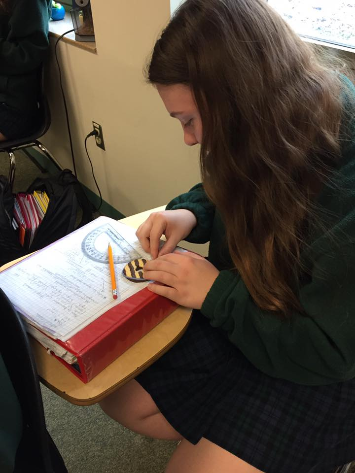 Ursuline Academy celebrate Pi Day
