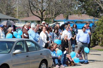 Prayers as 40 Days for Life ended in Dayton (Courtesy Photo)