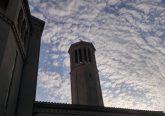 St. Teresa Avila Bell Tower on Good Friday Morning. (Greg Hartman/CT Photo)