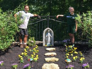 3rd Place, Trey Rouse and Daughter Marissa in Show us your Mary Garden.