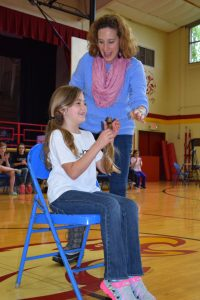 Beautiful Lengths 2017 Cierra Boyce (2nd grade) and her mother Dr. Casey Boyce (Courtesy Photo)