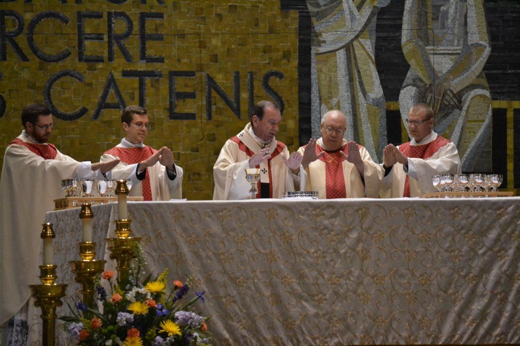 Eucharistic Prayer during Ordination Mass (CT Photo/Greg Hartman)