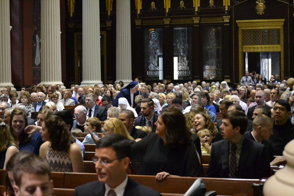 The faithful gather for Ordination 2017. (CT Photo/Greg Hartman)