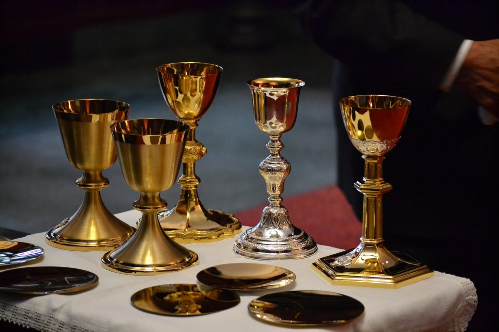 Chalices for Ordination 2017 (CT Photo/Greg Hartman)