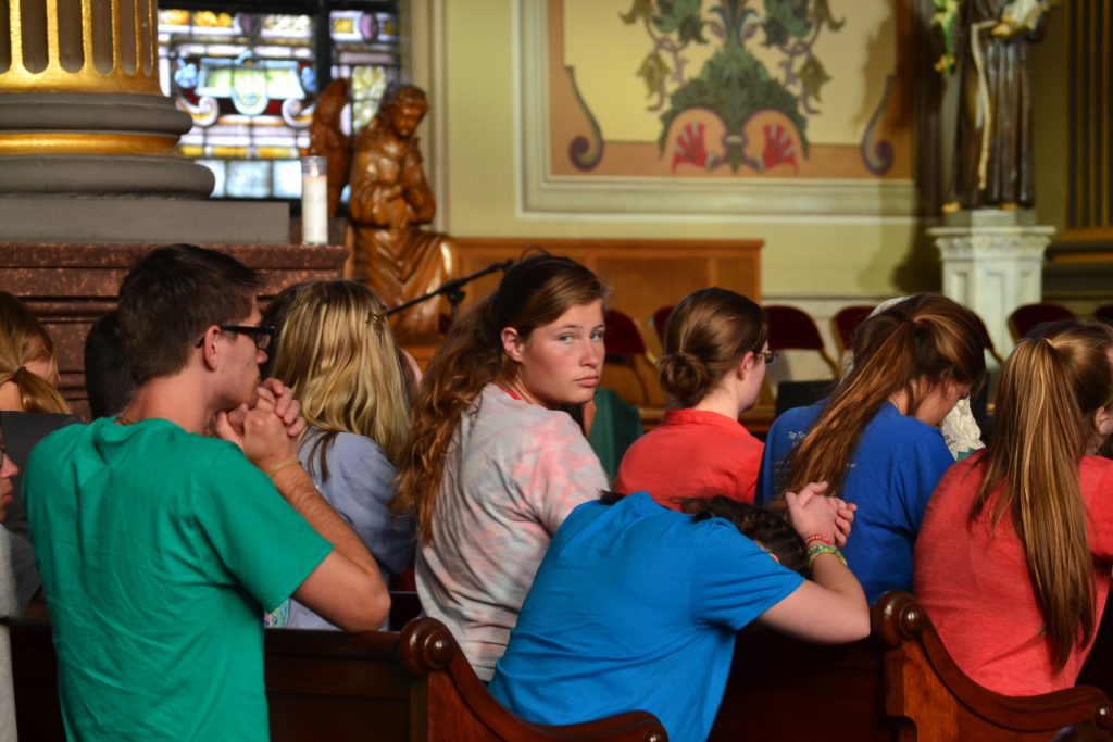 Participants prepared to be Missionary Disciples at Mother of God Church in Covington Ky. (CT Photo/Greg Hartman)