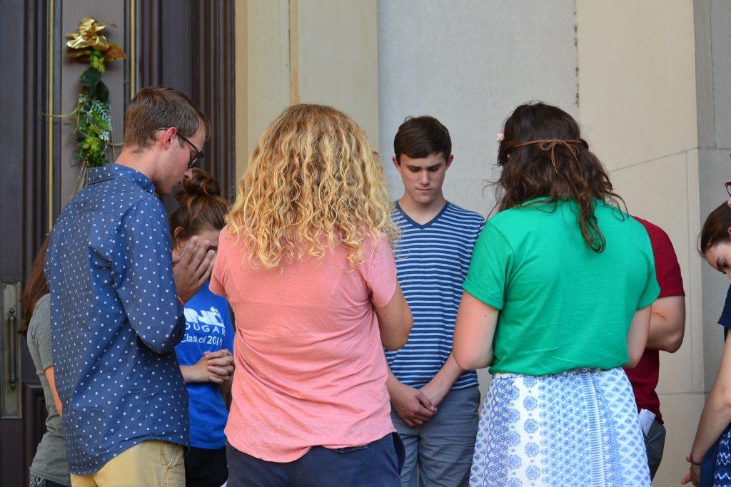 The power of prayer (CT Photo/Greg Hartman)