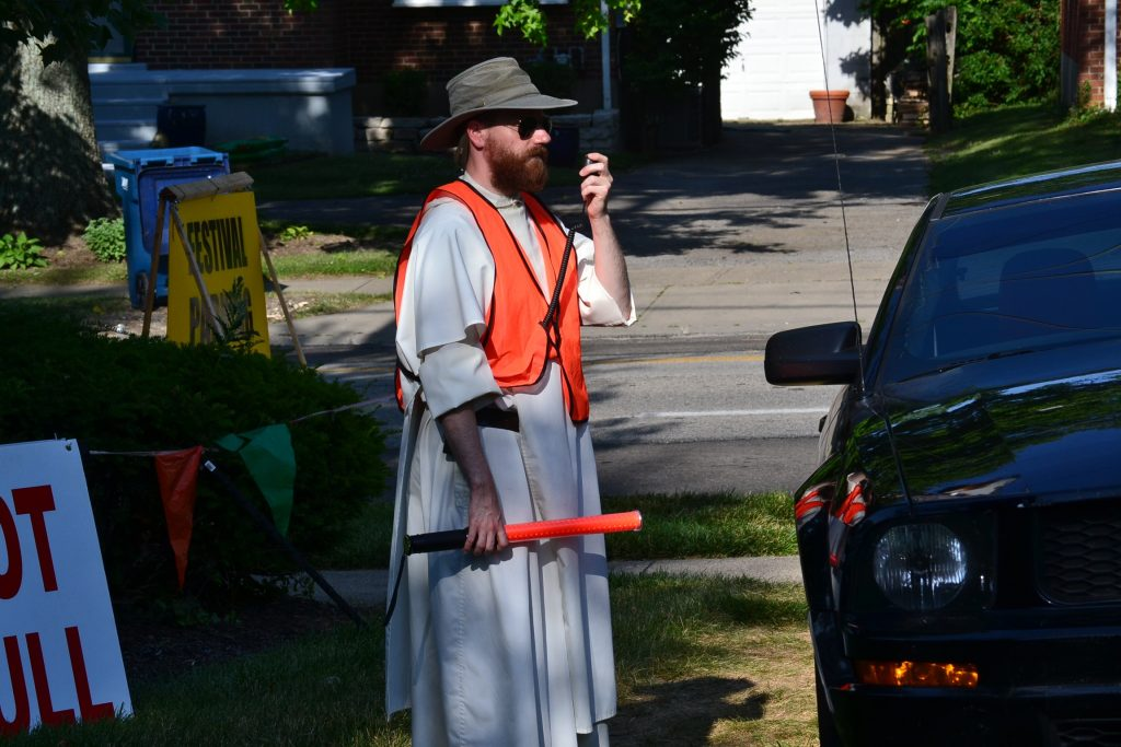 Dominicans direct us spiritually and help us to park our car. (CT/Photo Greg Hartman)