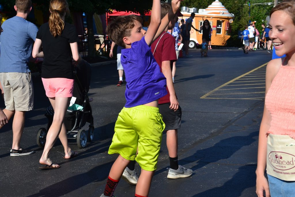 He Shoots He Scores. (CT Photo/St. Gertrude Festival)