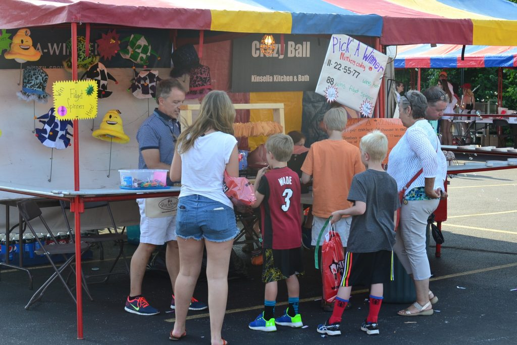 Trying their luck at the St. Gertrude Festival (CT Photo/Greg Hartman)
