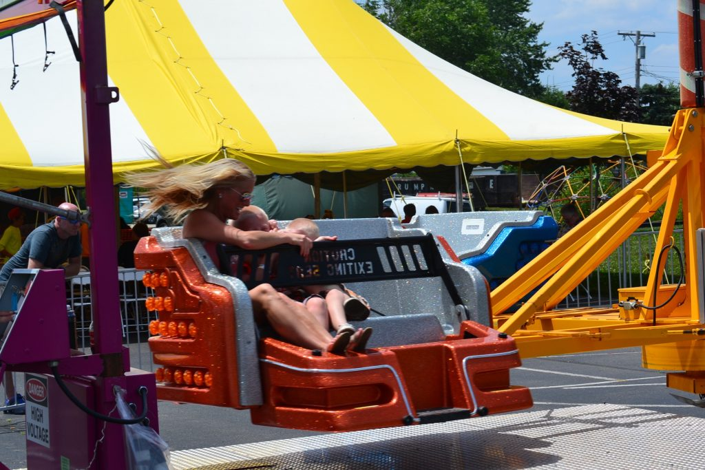 Centrifugal force on display at St. Christopher's Festival (CT Photo/Greg Hartman)