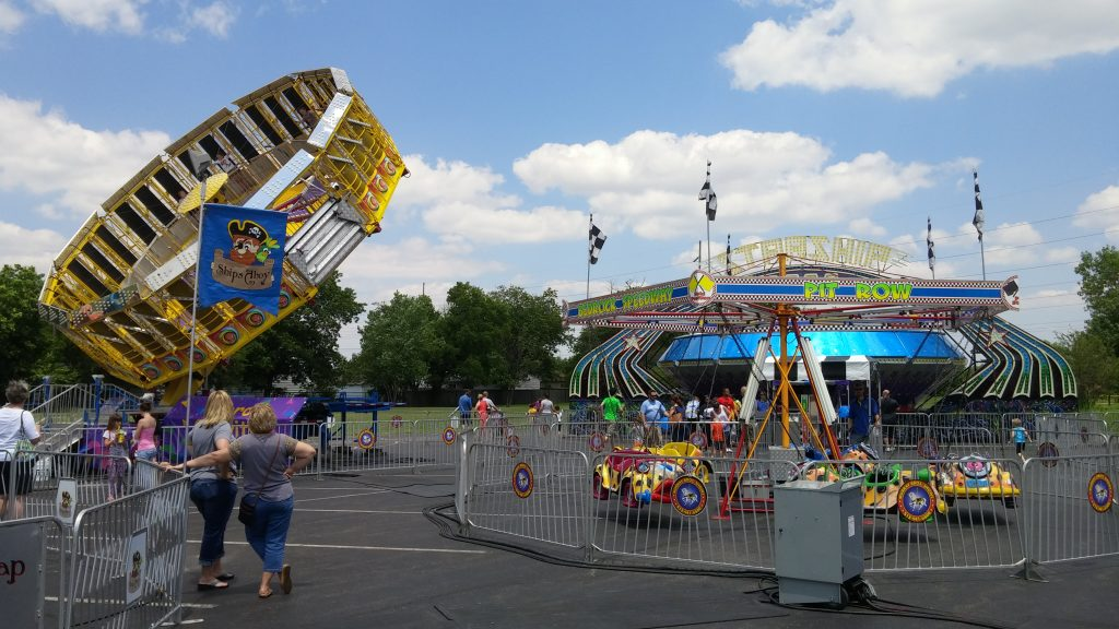 On a warm Sunday afternoon at St. Christopher's Festival in Vandalia (CT Photo/Greg Hartman)