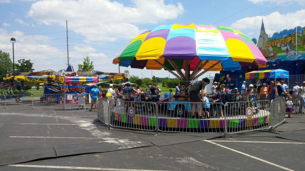 A part of any summer weekend is fun at parish festivals. (CT Photo/Greg Hartman)
