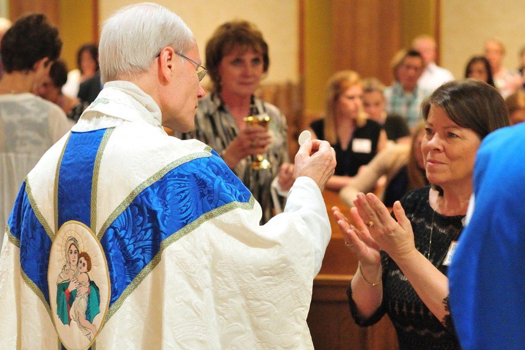 Rev. Stephen Mondiek, Schoenstatt Diocesan Priest (CT Photo/Jeff Unroe)