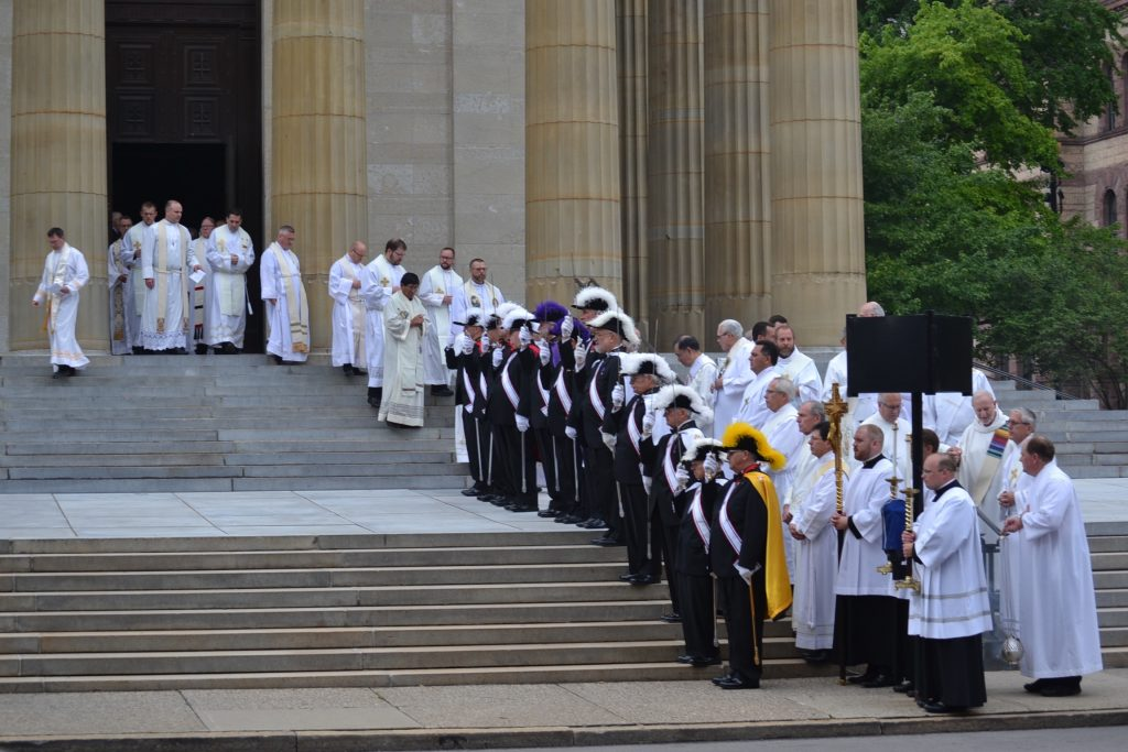 Funeral for Father Chris Coleman at St. Peter in Chains Cathedral (CT Photo/Gail Finke)