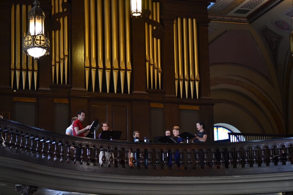 For 175 years, voices of Over-the-Rhine have filled this church. (CT Photo/Greg Hartman)