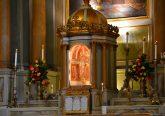 The alter at Old St. Mary's Parish. (CT Photo/Greg Hartman)