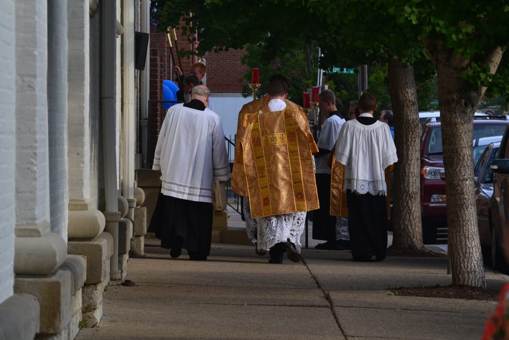 With the anniversary mass complete, Old St. Mary's continues as shining light in Over-the-Rhine. (CT Photo/Greg Hartman)