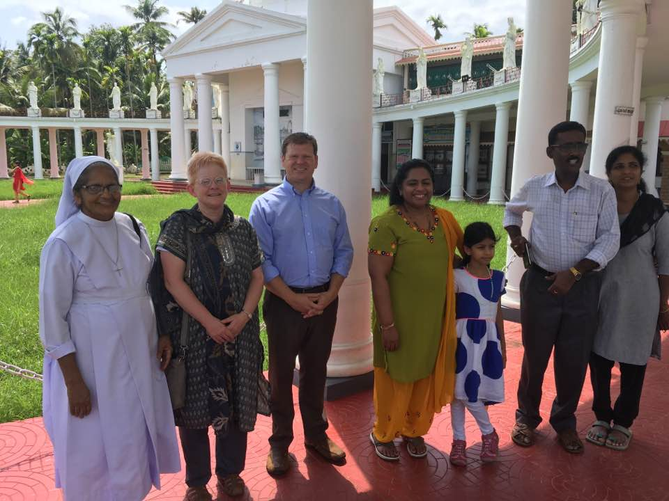 The site where St. Thomas first brought Christianity to India. (CT Photo/Eileen Connelly)