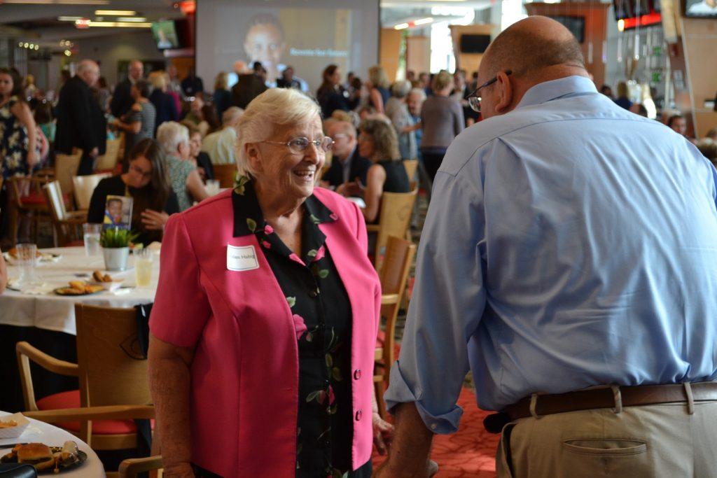 Sister Helen Habig at the 2017 CISE Kickoff (CT Photo/Greg Hartman)