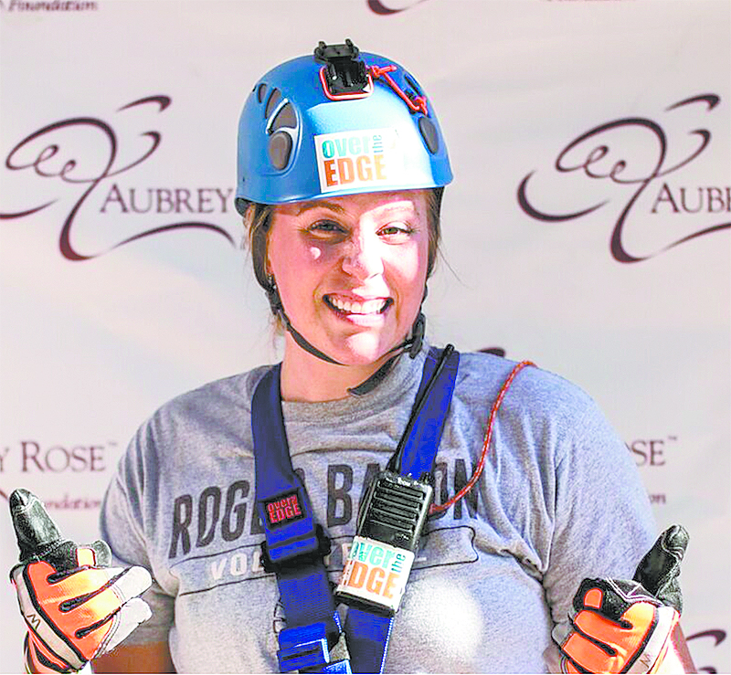 Roger Bacon Admissions Staffer Alyssa Flading raised $1,000 for the Aubrey Rose Foundation. (Courtesy Photo)