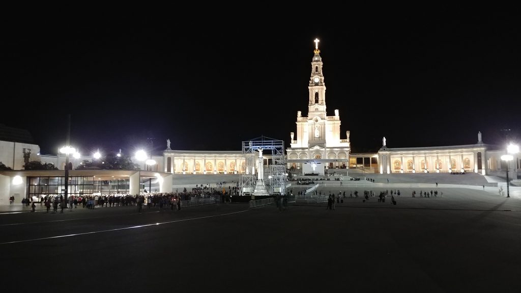 "On the eve of the 100th Anniversary of the ""Miracle of the Sun"", the Basilica of Our Lady of the Rosary in Fatima (CT Photo/Greg Hartman)"