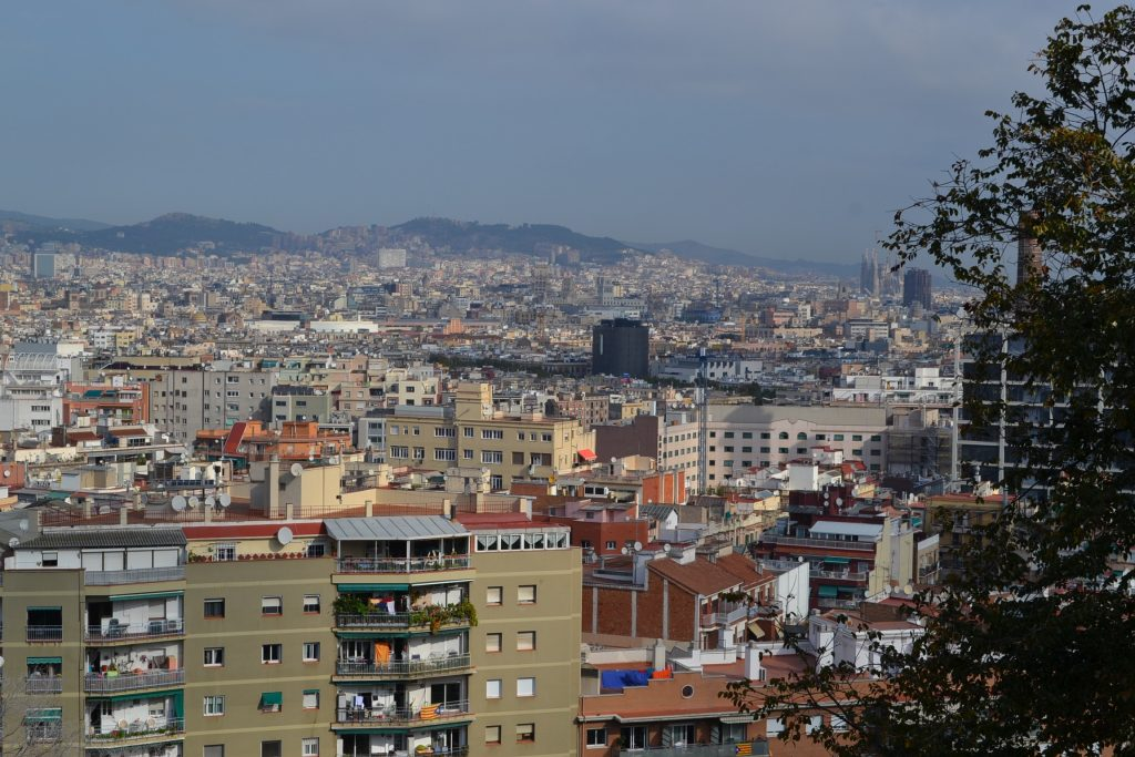 A view of Barcelona Catalonia Spain. Note in the right hand the large structure that is Sagrada Familia (CT Photo/Greg Hartman)