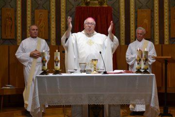 AT Sacred Heart in Barcelona Spain (CT Photo/Greg Hartman)
