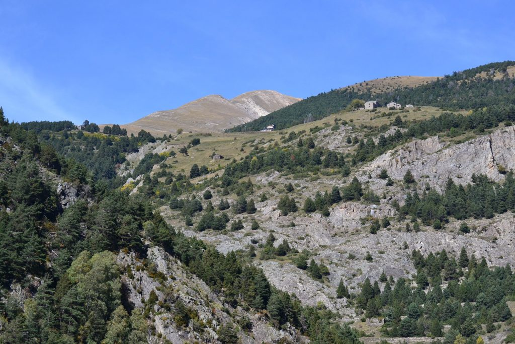 While on Pilgrimage, the faithful travelled through the nation of Andorra. View of the Pyrenee Mountains. (CT Photo/Greg Hartman)
