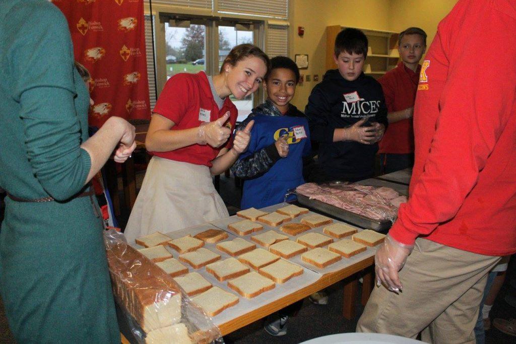 Bishop Fenwick Students Giving Back