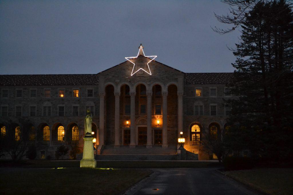 The Athenaeum of Ohio in the quiet (CT Photo/Greg Hartman)