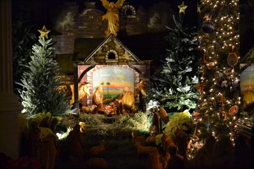 """""""And this will be a sign for you: you will find an infant wrapped in swaddling clothes  and lying in a manger."""" - LK 2 (CT Photo/Greg Hartman)"""