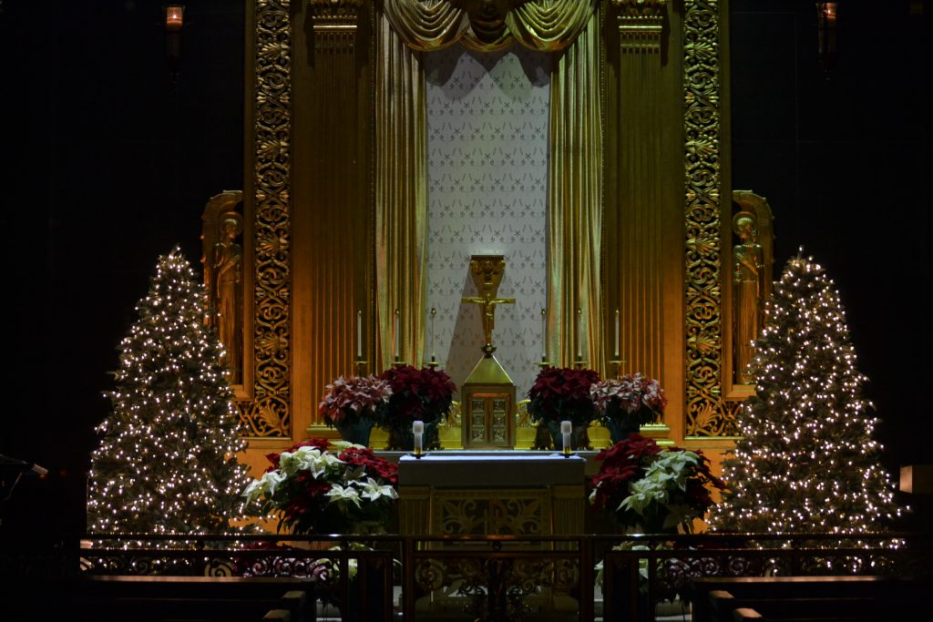 The Chapel at St. Peter in Chains Cathedral (CT Photo/Greg Hartman)