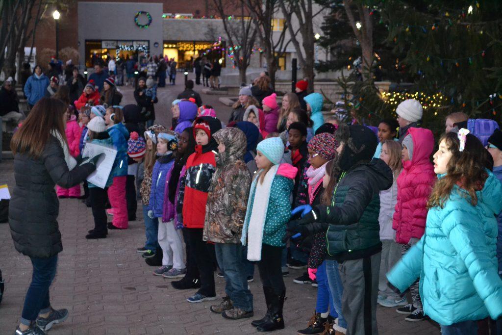 Children in the joy of Christmas (CT Photo/Greg Hartman)